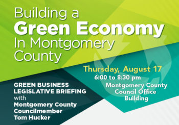 Building a Green Economy in Montgomery County