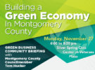 Green Business Community Briefing in Silver Spring